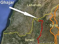 Ghajar_map